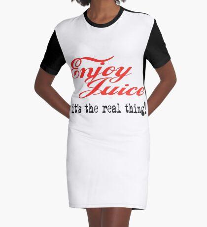 Juicy! Graphic T-Shirt Dress
