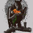 BAT EAT ROBIN by MEDIACORPSE