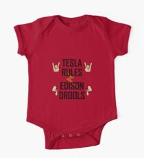Tesla Rules Edison Drools Kids Clothes