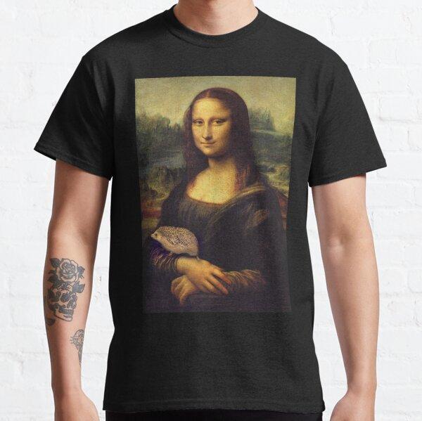 Mona Lisa Hedgehog Classic T-Shirt