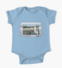 Gull on the Outside ~ Looking Back One Piece - Short Sleeve