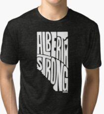 Alberta Strong (White) Tri-blend T-Shirt