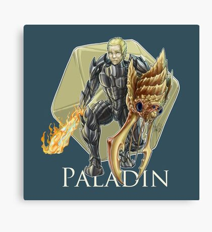 Dungeons and Dragons Paladin Canvas Print