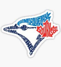 Toronto Blue Jays (Blue) Sticker