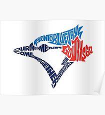 Toronto Blue Jays (Blue) Poster