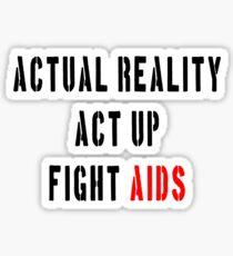 Fight Aids Sticker