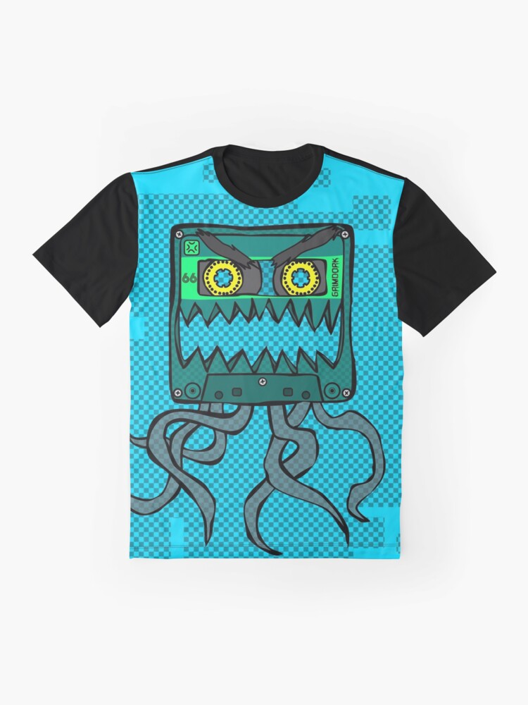 Alternate view of Crazy Cassette Graphic T-Shirt