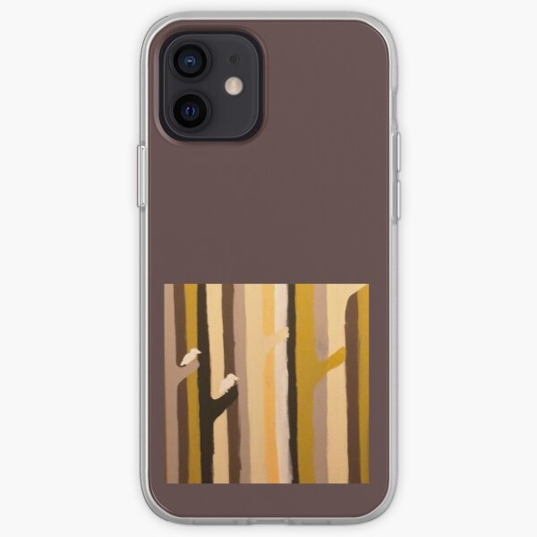 birds are watching iPhone Soft Case