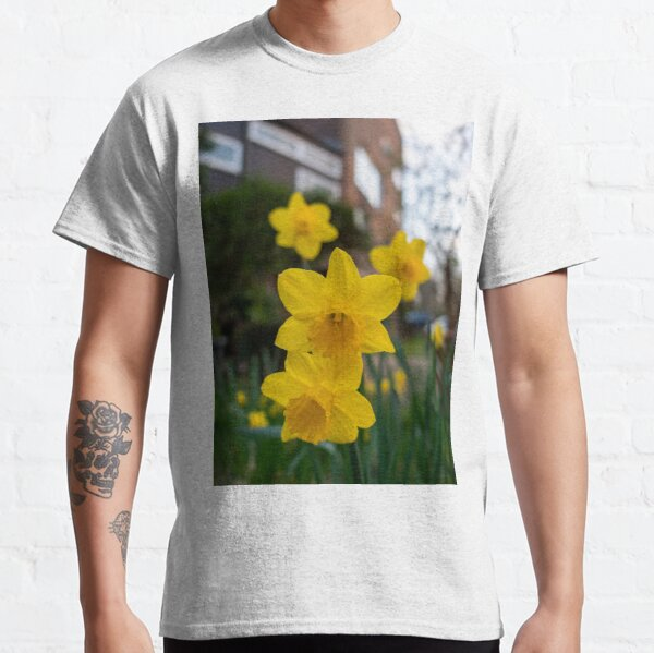 Yellow daffodils.Stay Active Classic T-Shirt