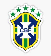Pegatina Logotipo de fútbol de Brasil