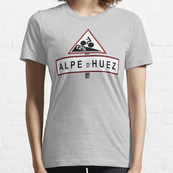 Alpe d'Huez Road Sign Cycling Essential T-Shirt