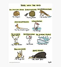 Yoga with the Wild Photographic Print