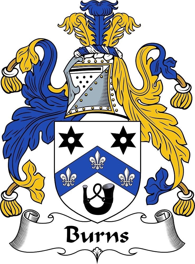 Burns Coat of Arms / Burns Family Crest by ScotlandForever