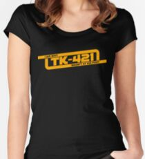 TK-421 Women's Fitted Scoop T-Shirt