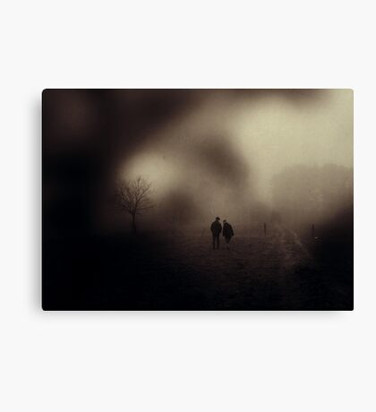 I Will Follow You Into The Dark Canvas Print