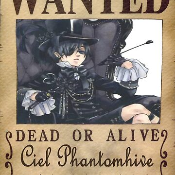 Wanted - Ciel Phantomhive by Xhex115