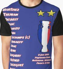 France 2000 Euro Winners Graphic T-Shirt