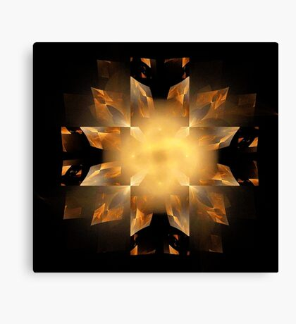 Shapes in Symmetry Canvas Print