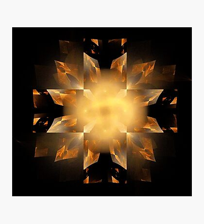 Shapes in Symmetry Photographic Print