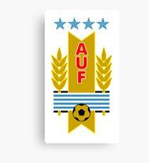 Uruguay-Fußball-Logo Leinwanddruck