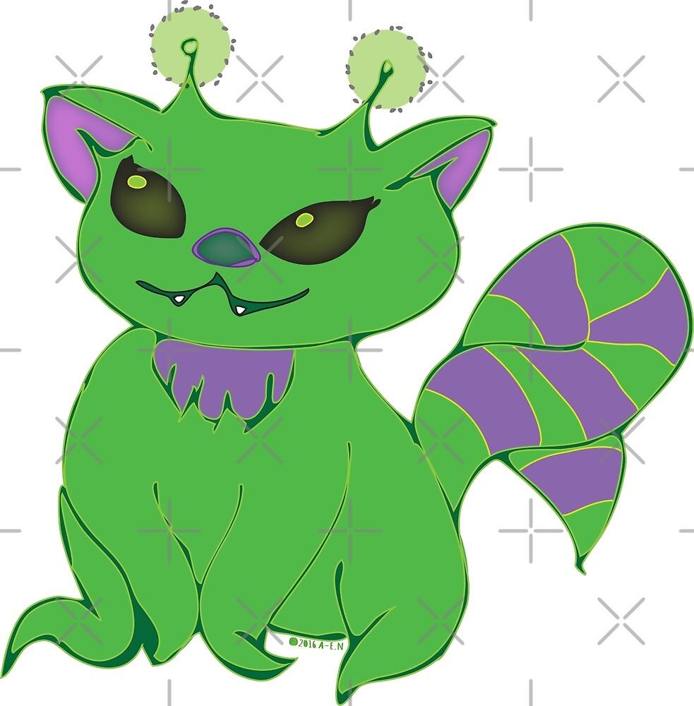 Kitty Alien Zelda by Amy-Elyse Neer