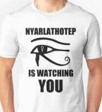 Nyarlathotep is watching you T-Shirt