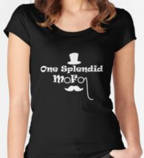 Be a splendid mofo Women's Fitted Scoop T-Shirt