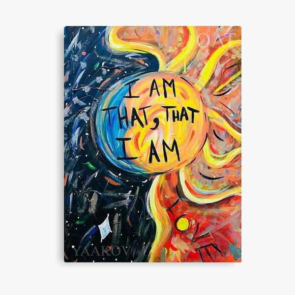 I AM THAT, THAT I AM  Canvas Print