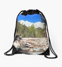 Canyon of King Creek Drawstring Bag