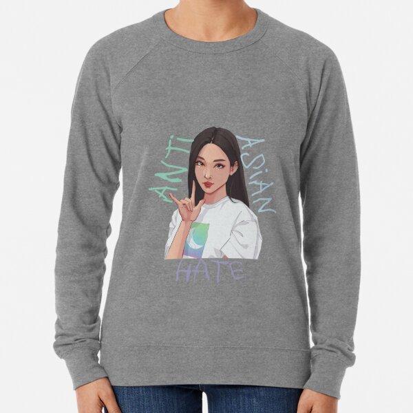 Arrêtez la haine asiatique Sweatshirt léger