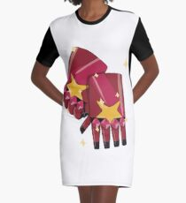 Garnet's Gauntlets Graphic T-Shirt Dress