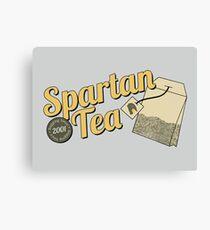 Spartan Tea Canvas Print
