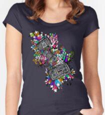 Blaster Shaz Women's Fitted Scoop T-Shirt