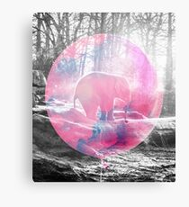 Baby Elephant in a Balloon #redbubble #lifestyle Canvas Print