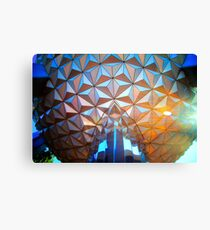 Spaceship Flare Canvas Print