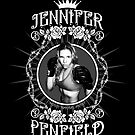 Jennifer Penfield Mixed Martial Artist promotional desgin by Brett Gilbert