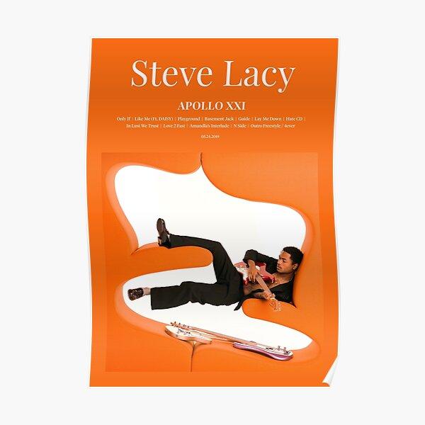 Steve Lacy - Apollo XXI (2019) Music Album Cover Poster Poster
