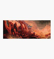 Land of Fires Photographic Print