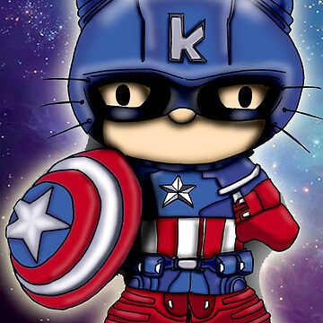 cattain america  by quickart