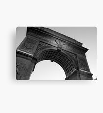 Washington Square Park Arch - B&W Canvas Print