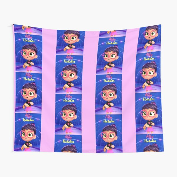 Abby Hatcher Children Design #13 Tunnel Tapestry