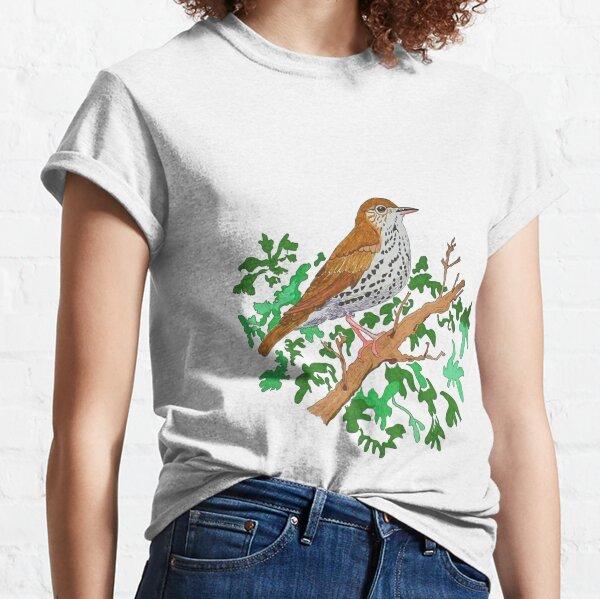 Wood Thrush Song Bird Classic T-Shirt
