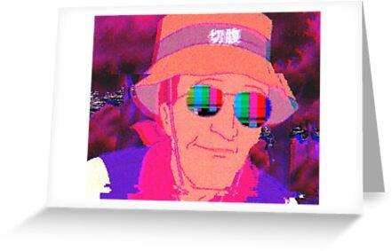 «Vaporwave Dale Gribble» de pkbrendan