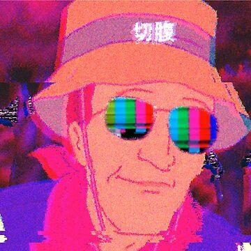 Vaporwave Dale Gribble by pkbrendan