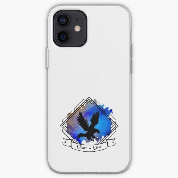 Eagle Raven Emblem Smart Clever Wise T-shirt Sticker phone case iPhone Soft Case