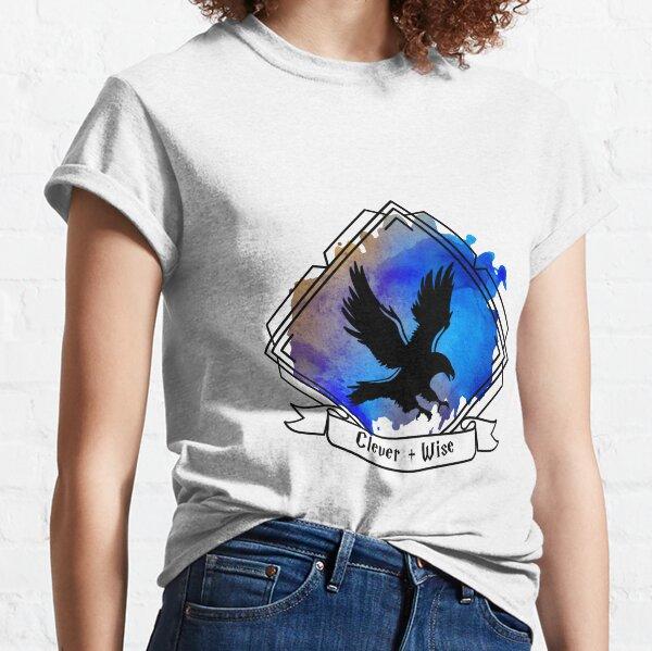 Eagle Raven Emblem Smart Clever Wise T-shirt Sticker phone case Classic T-Shirt