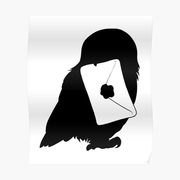 Magic Owl Letter Poster