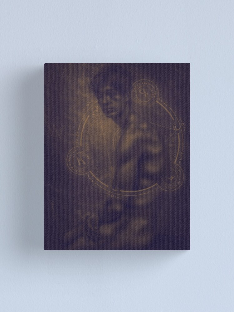 Alternate view of divine light of seraphim Canvas Print