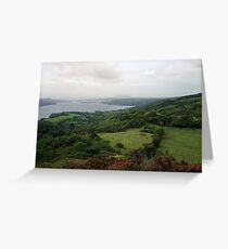 Irish Lough    by Denise Sallee Greeting Card