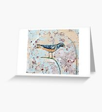 Wall Bird Greeting Card